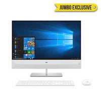 "HP Pavilion 27-XA0005NE i7 8GB, 1TB 2GB Graphic 27"" All-in-One Desktop, White"
