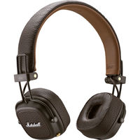 Marshall Audio Major III Wireless On-Ear Headphones, Brown