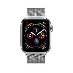 Apple Watch Series 4 40mm Stainless Steel Case with Milanese Loop
