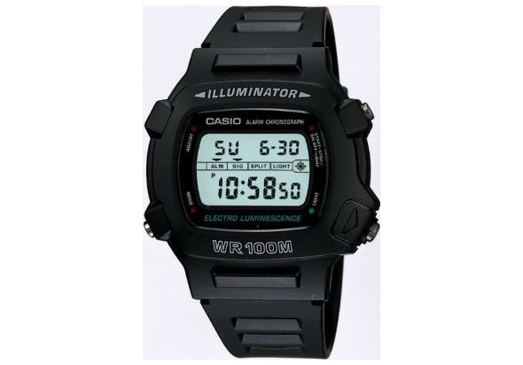 Casio W740 illuminator Alarm Dual Time Watch