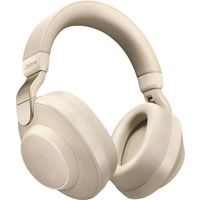 Jabra Elite 85h Wireless Noise Canceling Over the Ear Headphones,  Gold Beige