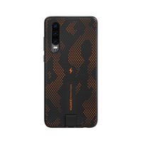 Huawei P30 Wireless Charging Case,  Orange