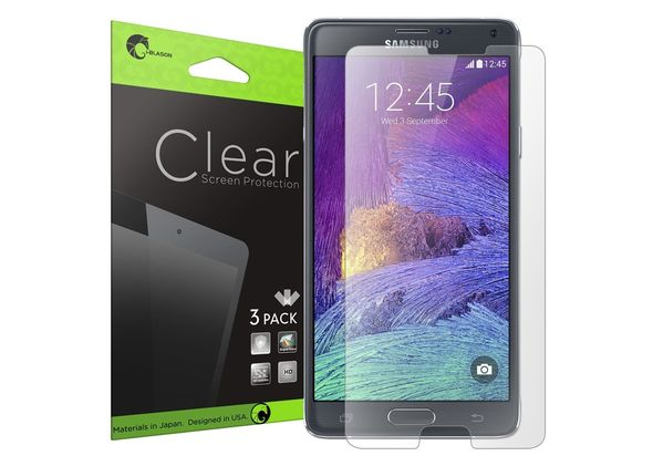 Samsung Galaxy Note 4 3 Pack Premium HD Clear Screen Protector