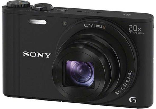 Sony DSCWx350 Digital Camera Black