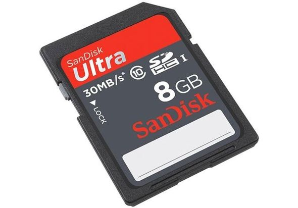SanDisk Ultra SDSDU-008G 8GB Memory Card