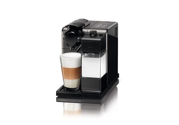 Nespresso F521 Lattissima Touch Coffee Machine, Black