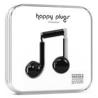 Happy Plugs Earbud Plus, Black
