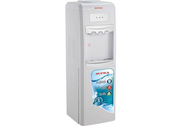 Supra Water Dispensers, White & Silver