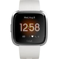 Fitbit Versa Lite Edition Smartwatch,  White/Silver