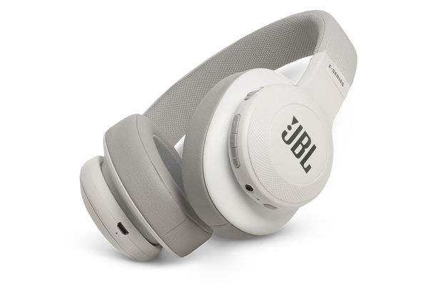 JBL E55BT Wireless over-ear headphones, White