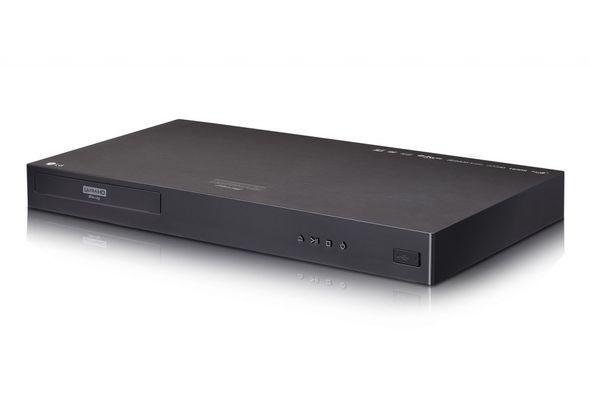 LG 4K Ultra HD Blu Ray Player