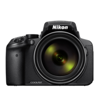 Nikon COOLPIX P900 Compact Camera, Black