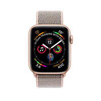 Apple Watch Series 4 44mm Gold Aluminum Case with Pink Sand Sport Loop