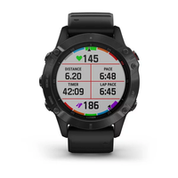 Garmin Fenix 6 Multisport GPS Watch, Black