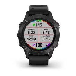 Garmin Fenix 6 Multisport GPS Watch, Black