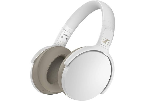 Sennheiser HD 350BT Bluetooth 5.0 Wireless Headphones,  White