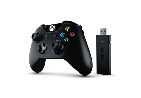Microsoft Xbox One Controller with Wireless Adapter for Windows