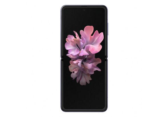 Samsung Galaxy Z Flip Smartphone LTE,  Mirror Purple