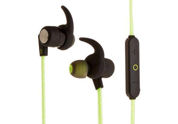 Creative Outlier Sports Wireless Sweatproof In-Ears, Lime Green