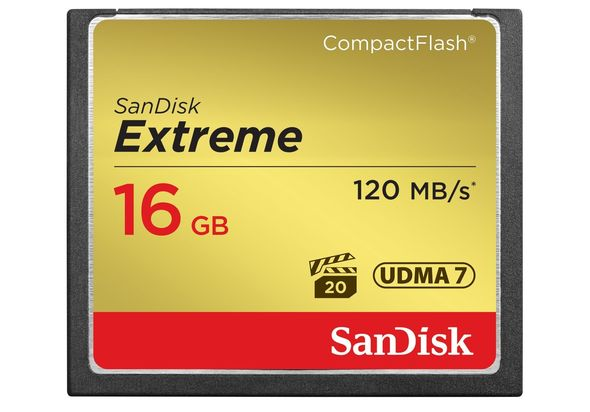 SanDisk SDCFXS-016G-X46 16 GB Memory Card