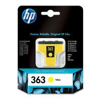 HP 02 Original Ink Cartridge, Yellow