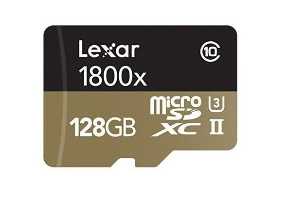 Lexar 128 GB SD Card