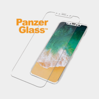 Panzerglass Case Friendly for iPhone X, White Frame