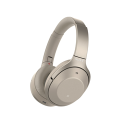 Sony WH1000XM2/N Premium Noise Cancelling Wireless Headphones, Champagne Gold