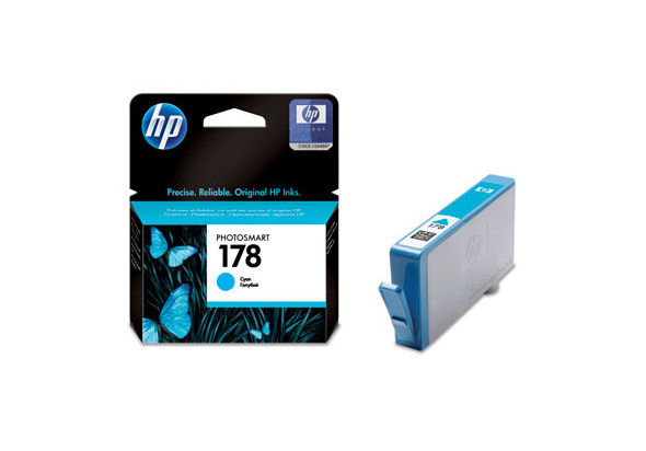 HP 178 Cyan Original Ink Cartridge