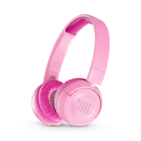 JBL JR300BT Kids Wireless On-Ear Headphones, Punky Pink