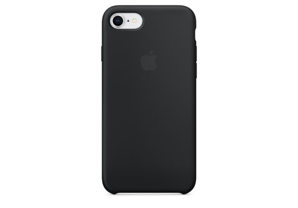 Apple iPhone 8 / 7 Silicone Case, Black