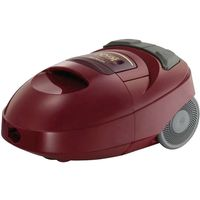 Hitachi 1600 Watts Vacuum Cleaner, Maroon - CV-W1600