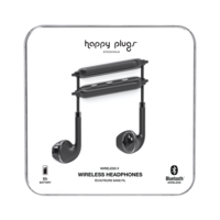 Happy Plugs Wireless II Wireless Headphones, Black