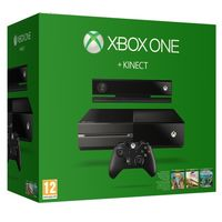 Microsoft Xbox One 500 GB Kinect Console+ 3 Games+ 3 Months Gold Membership