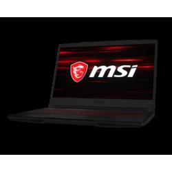 """MSI GF63 Thin 9SC i7-9750H, 16GB RAM, 1TB HDD+ 256GB SSD, 4G Graphic Card Geforce GTX 1650, 15.6"""" Gaming Laptop"""