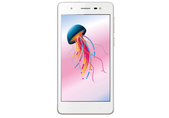 Lava Iris 60 Dual SIM Smartphone LTE, Gold