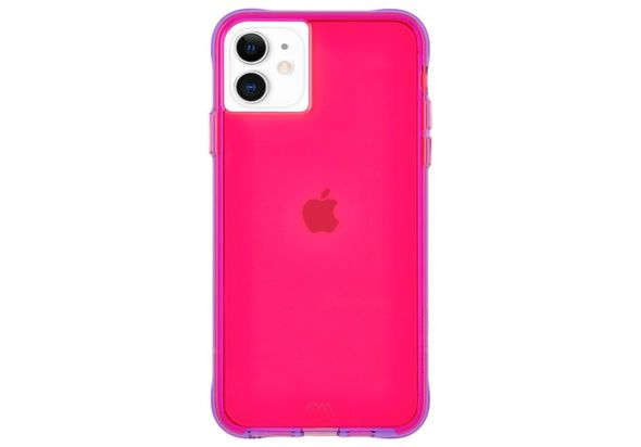 Case Mate Tough Neon Case for iPhone 11, Pink
