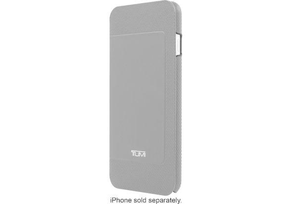Tumi Folio Case for Apple iPhone 6 Plus and 6s Plus, Gray