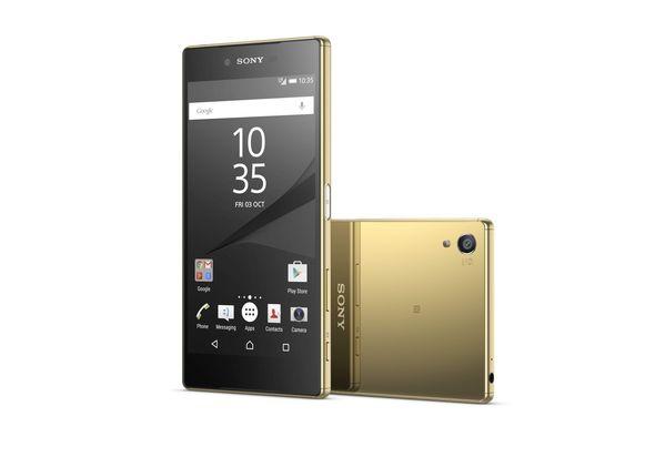 Sony Xperia Z5 Smartphone, Dual Sim, Gold