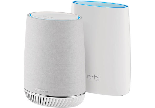 Netgear RBK50V Mesh WiFi System with Orbi Voice Smart Speaker