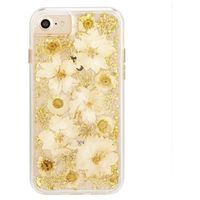 Case Mate Karat Petals Case for iPhone SE, Antique White
