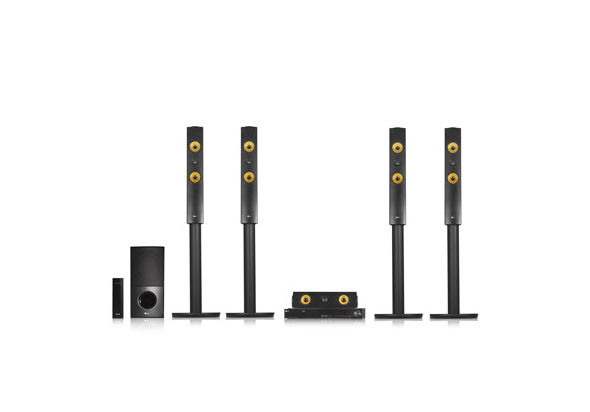 LG 1200W 5.1CH 3D Blu-Ray Home Theatre System