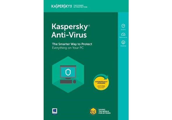 Kaspersky Antivirus 2018 2 User