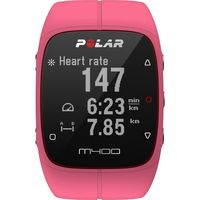 Polar M400 GPS Running Watch, Pink