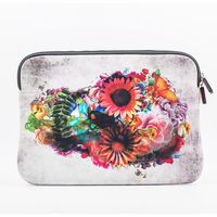 "Iorigin Macbook Air 11"" Sleeve Flowery Skull"