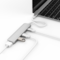 HyperDrive USB Type-C Hub with 4K HDMI Support, Silver