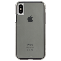 Case Mate Naked Tough Case for Apple iPhone X, Smoke
