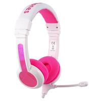 BuddyPhones School+ headphones, Pink
