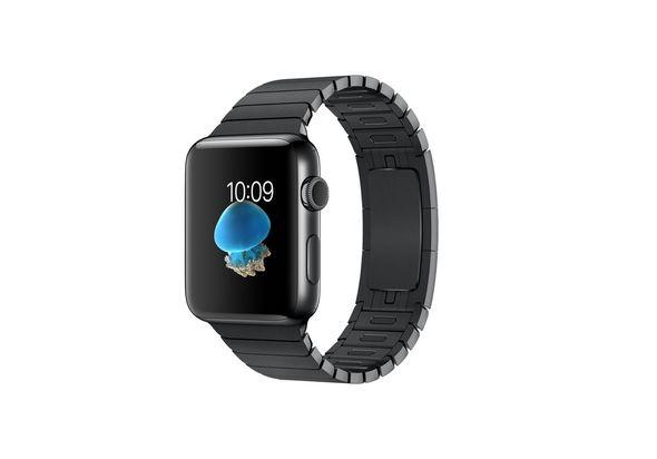 Apple Watch Series 2, 38mm Space Black Stainless Steel Case with Space Black Link Bracelet