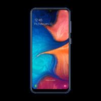 Samsung Galaxy A20 Smartphone LTE,  blue
